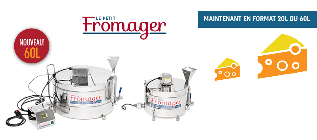 Le petit fromager ls bilodeau machine a fromage